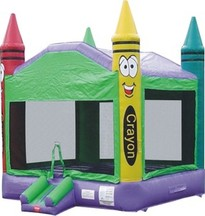 Crayola Crayon Toddler Bounce House in Lithonia Georgia