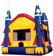 Rocket Ship Bounce House in Lithonia Georgia