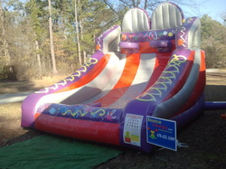Basketball Bounce House Inflatable Game in Stockbridge, Georgia